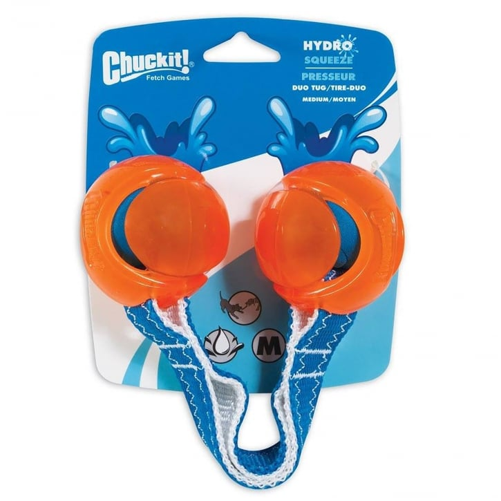 Chuckit! Hydro Squeeze Duo Tug Medium Dog Toy