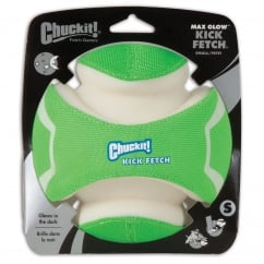 Max Glow Kick Fetch Dog Ball Small
