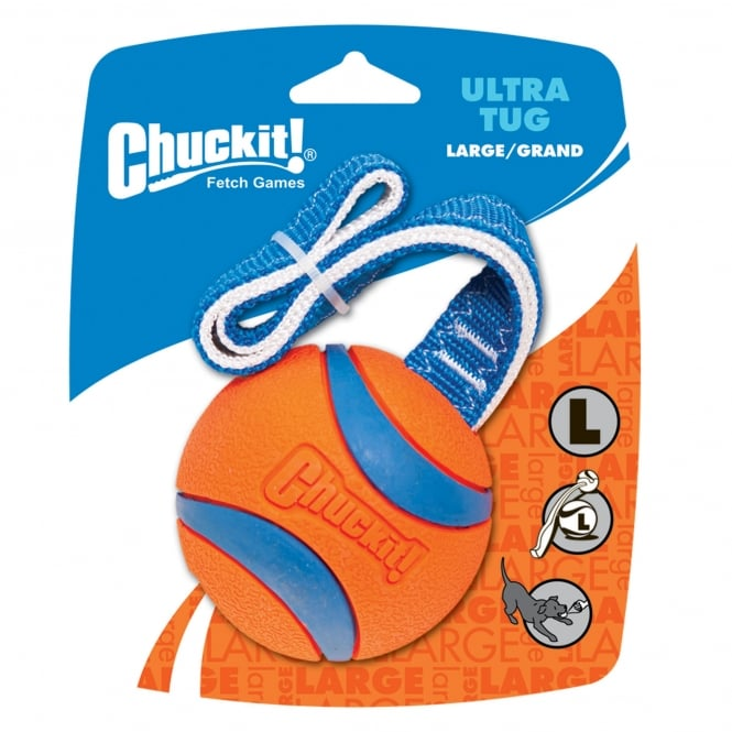 Chuckit! Ultra Tug Rubber Dog Toy Large