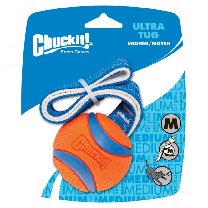 Chuckit! Ultra Tug Rubber Dog Toy Medium