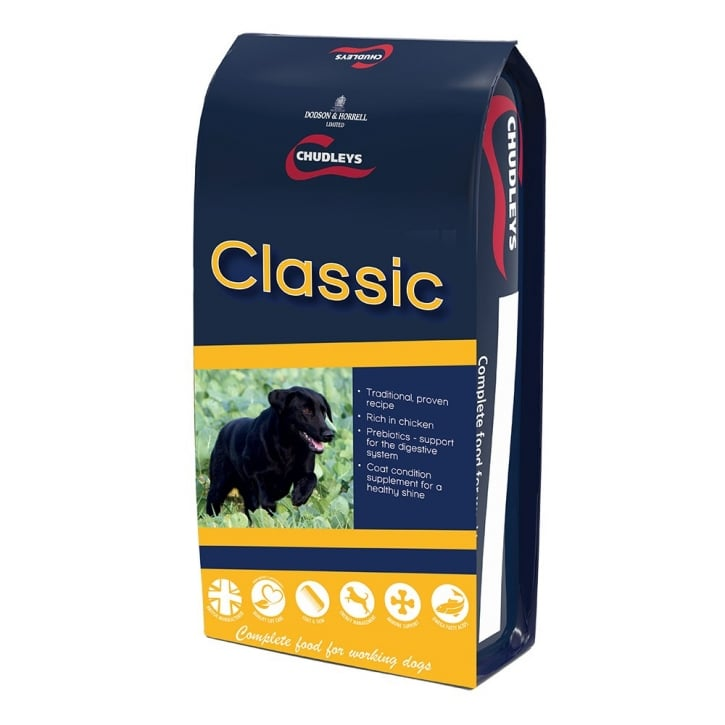 Chudleys Classic Adult Working Dog Food 15kg