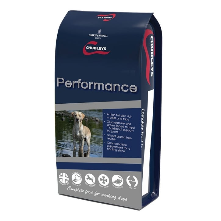 Chudleys Performance Working Dog Food Rich in Beef & Tripe 15kg