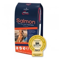 Salmon With Rice & Vegtables Adult Dog Food 15kg