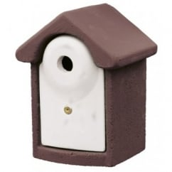 CJ Wildbird Woodstone Wild Bird Nest Box Brown 28mm (fsc)