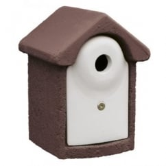CJ Wildbird Woodstone Wild Bird Nest Box Brown 32mm (fsc)