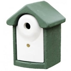 CJ Wildbird Woodstone Wild Bird Nest Box Green 28mm (fsc)