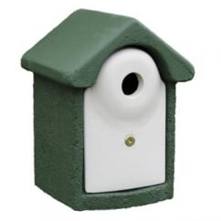 CJ Wildbird Woodstone Wild Bird Nest Box Green 32mm (fsc)