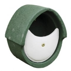 CJ Wildbird Woodstone Wild Bird Nest Box Open Oval Green (fsc)
