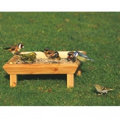 CJ Wildbird Square Wild Bird Feeding Table - Ground (fsc)