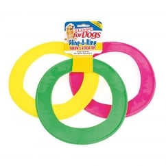 Fling A Ring Dog Toy 8.5
