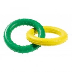 Pimple Rubber Rings Dog Toy 19cm
