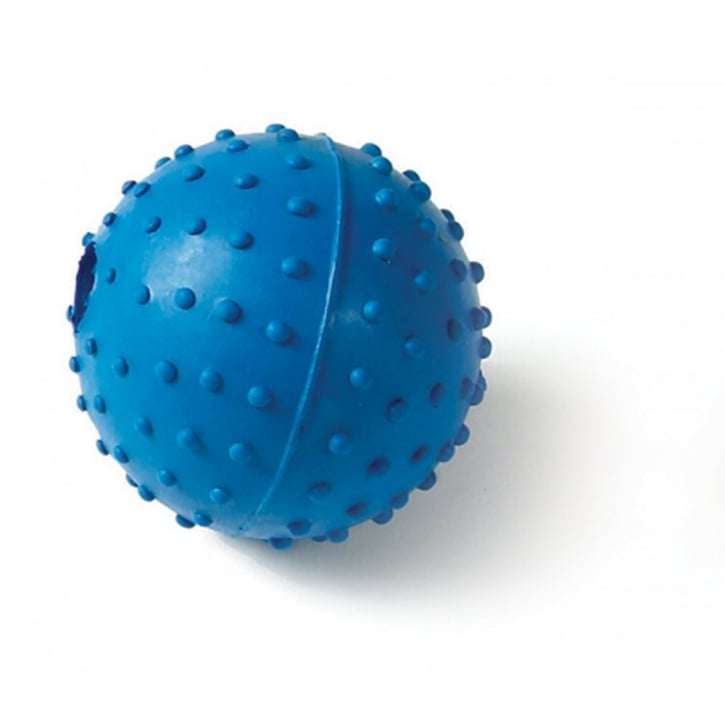 Classic Rubber Pimple Ball With Bell 60mm