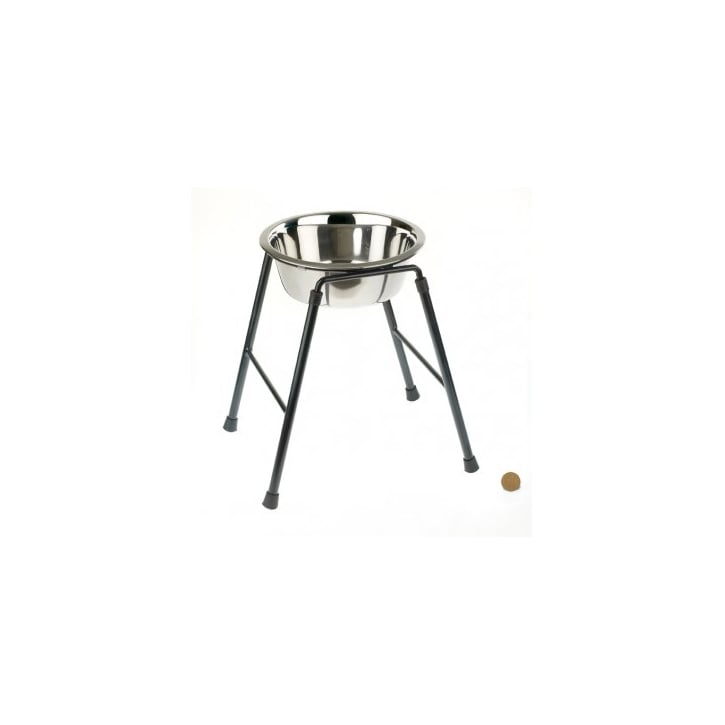 Classic Single Feeder Dog Stand 300mm High Inc 1600ml Dish