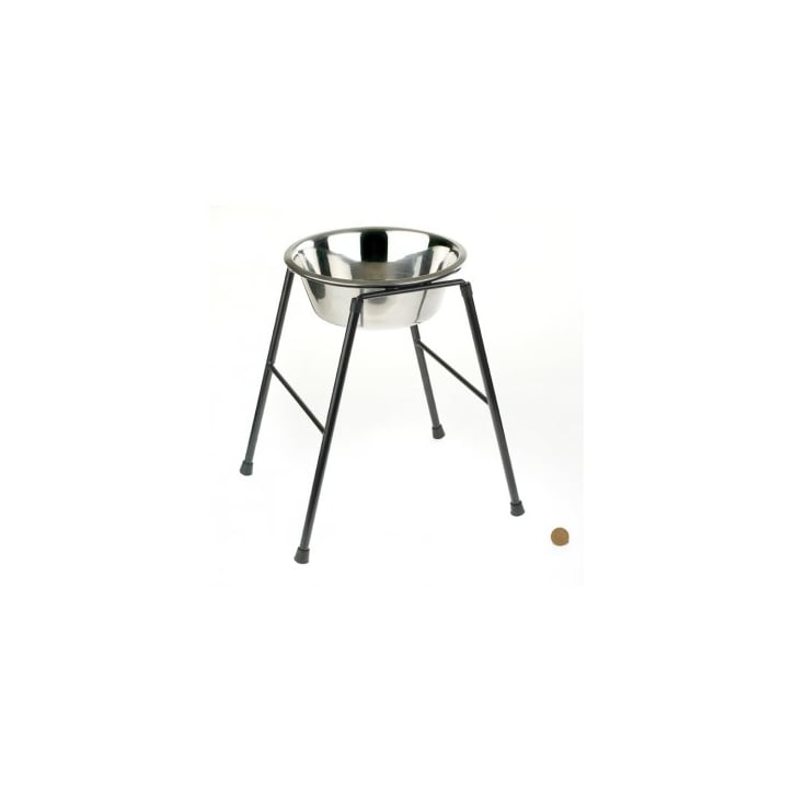 Classic Single Feeder Dog Stand 370mm High Inc 2500ml Dish
