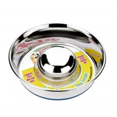 Stainless Steel Non-slip Slow Feeder Bowl - Small 7.5