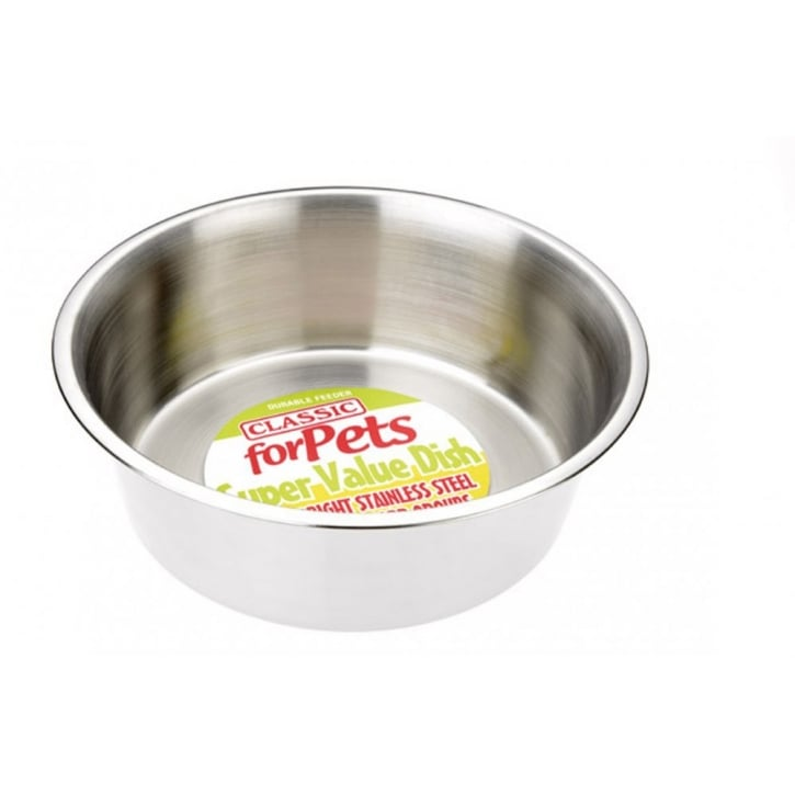 Classic Super Value Stainless Steel Dish 4700ml - 290mm Dia