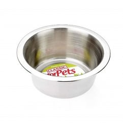 Super Value Stainless Steel Dish 475ml - 135mm Dia