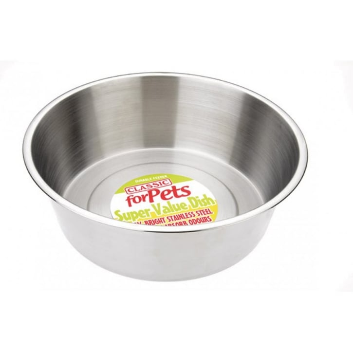 Classic Super Value Stainless Steel Dish 9500ml - 360mm Dia
