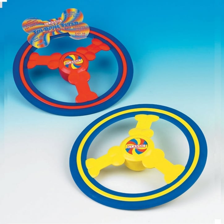 Classic Tri-bone Flyer Dog Fun Toy 240mm