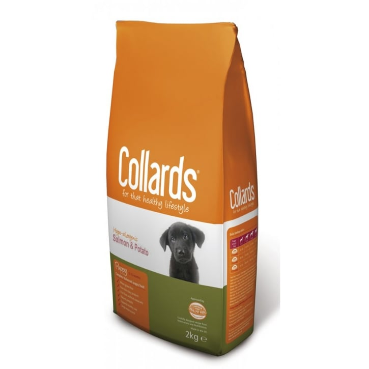 Collards Complete Hypo-allergenic Puppy Dog Food Salmon & Potato 2kg
