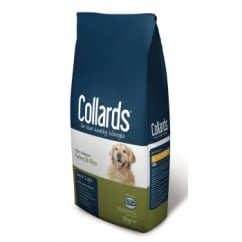 Collards Complete Senior/Light 7+ Years Dog Food Turkey & Rice 2kg