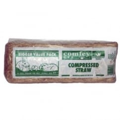 Comfey Pet Comfey Compressed Pet Straw - Standard