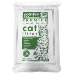 Comfey Wood Based Cat Litter 30 Litre approx 21kg