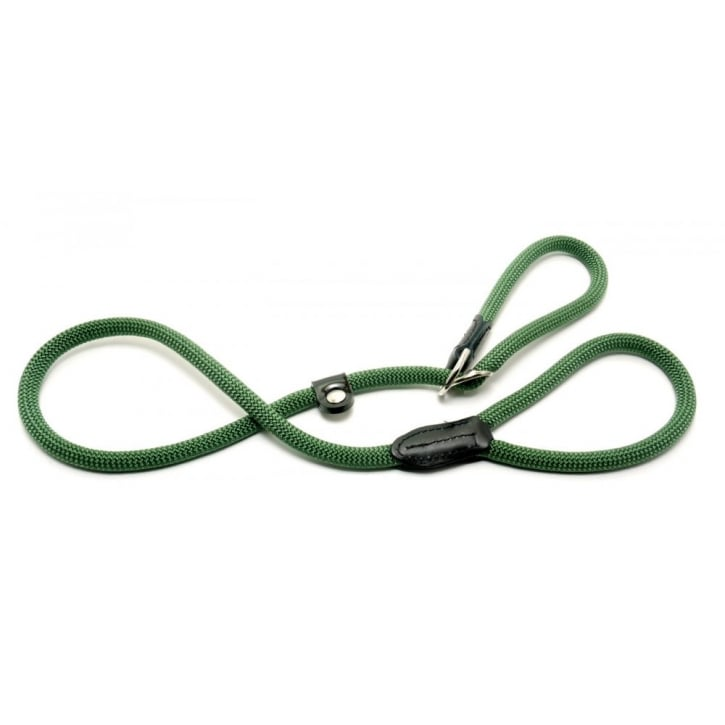 Company of Animals Clix Premium Figure of Eight Dog Slip Lead Large Green 1.7metre