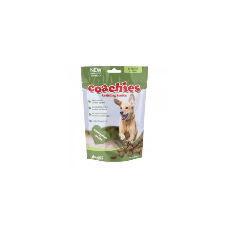 Company of Animals Coachies Naturals Dog Treats 200gm