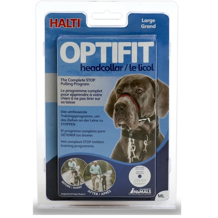 Company of Animals Halti Optifit Dog Headcollar Large