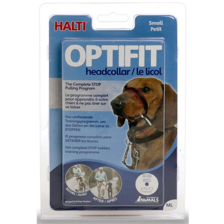 Company of Animals Halti Optifit Dog Headcollar Small