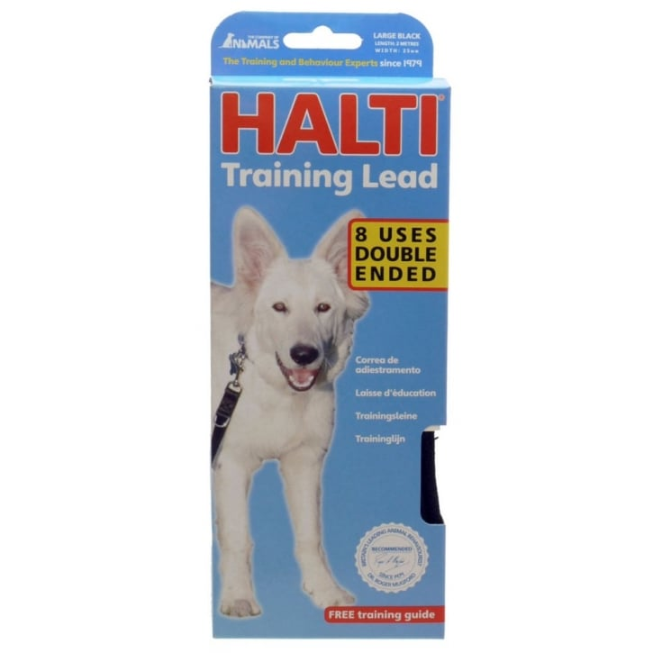 Company of Animals Halti Training Lead Large - Black