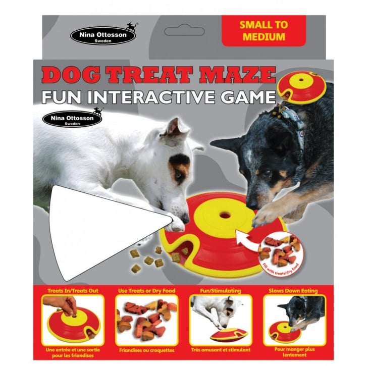 Company of Animals Nina Ottosson Dog Treat Maze Fun Interactive Game - Small to Medium