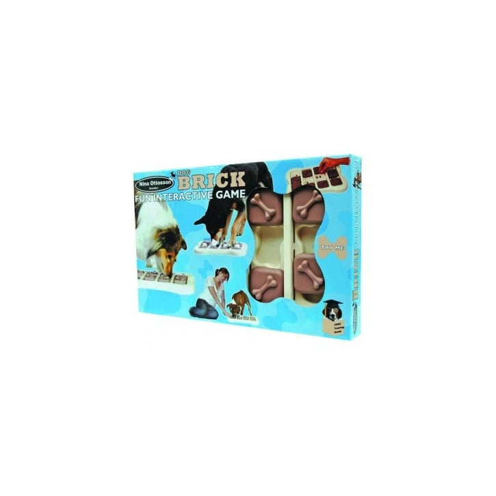 Company of Animals Nina Ottosson Interactive Plastic Training Dog Game - Brick