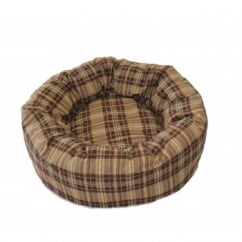 Cosipet Chequers Do-nut Bed 61cm-24