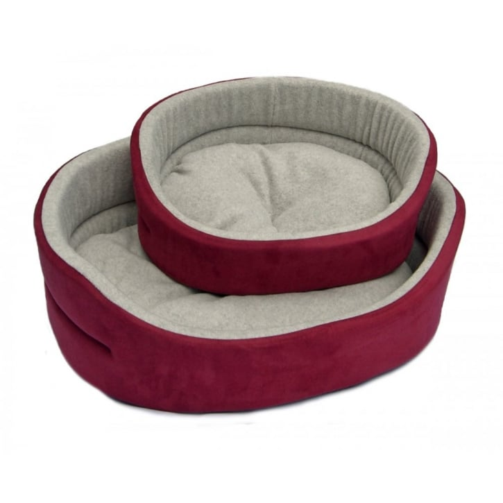 Cosipet Superbed Chelsea Wine Dog Bed 26