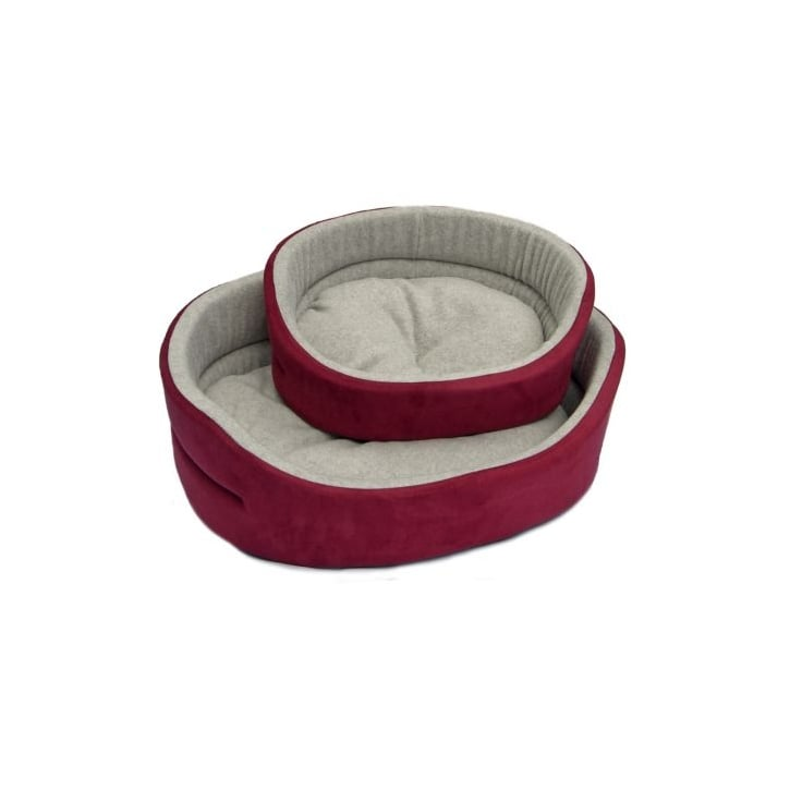 Cosipet Superbed Chelsea Wine Dog Bed 34