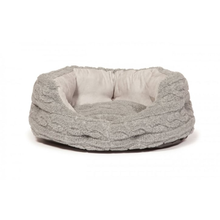 Danish Design Bobble Deluxe Slumber Bed Pewter 61cm (24