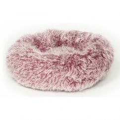 Fluffy Purple Cushion Bed 51cm (20