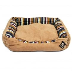 Morocco Rectangular Snuggle Dog Bed 68cm-28