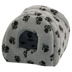 Sherpa Fleece Cat & Small Dog Igloo - 41x41cm - Grey
