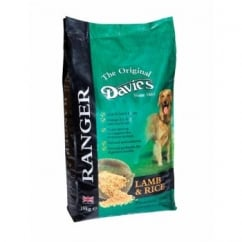 Davies Ranger Complete Adult Dog Food With Lamb & Rice 15kg PM