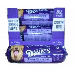 Davies Tripe Chub Dog Food 15x800gm box
