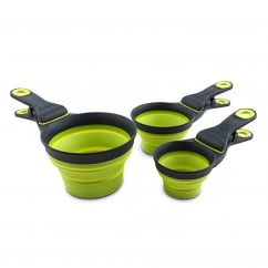 Popware for Pets Collapsible KlipScoop Small Green