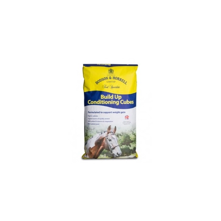 Dodson & Horrell Build up Conditioning Cubes Horse Feed 20kg