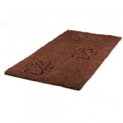Dirty Dog Doormat Brown 152 x 76cm