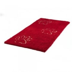 Dirty Dog Doormat Maroon 152 x 76cm