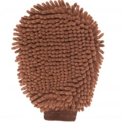 Dirty Dog Grooming Mitt Brown