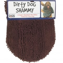 Dirty Dog Shammy Towel Brown