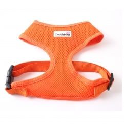 Airmesh Padded Dog Harness Orange Small